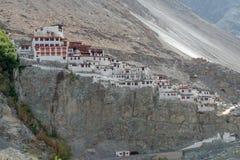 Kloster Leh Ladakh Indien Augusti 2017 Fotografering för Bildbyråer
