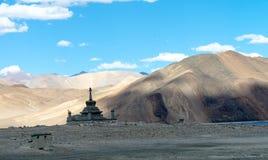 Kloster Leh Ladakh Indien Augusti 2017 Royaltyfri Foto