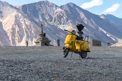 Kloster Leh Ladakh Indien Augusti 2017 Royaltyfri Fotografi