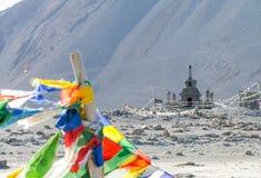 Kloster Leh Ladakh Indien Augusti 2017 Royaltyfri Bild