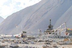 Kloster Leh Ladakh Indien Augusti 2017 Arkivbilder