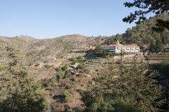Kloster Machairas Zypern Lizenzfreie Stockfotos