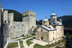 Kloster Manasija Stockfoto