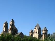 Kloster Maria Lach lizenzfreies stockfoto