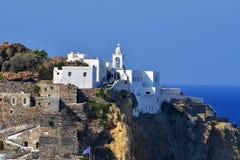 Kloster marial, Mandraki, Nisyros Images stock