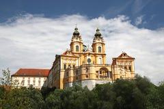 Kloster Melk lizenzfreie stockfotos