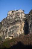 Kloster Meteora Grekland Arkivbild