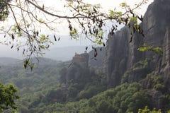 Kloster Meteora i Grekland Royaltyfri Bild