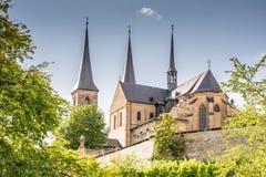 Kloster Michelsberg 免版税图库摄影