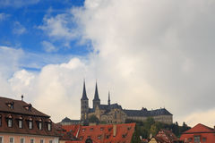 Kloster Michelsberg (Michaelsberg) en Bamburg, Alemania Fotografía de archivo libre de regalías