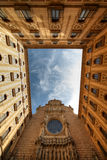 Kloster Montserrat, Spanien Lizenzfreies Stockfoto