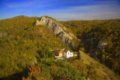 kloster nära den prague romantiker Royaltyfri Fotografi