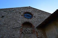 Kloster nahe Iseo See stockbild