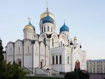 Kloster Nikolo Ugreshsky Stein, pyatiprestolny, gegründet 1824 mittels der Fabrikinhaber Yakovlev Das Orth Lizenzfreie Stockfotografie