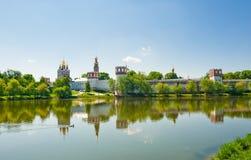 kloster novodevichiy moscow Arkivbilder