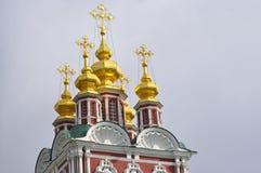kloster novodevichy moscow Royaltyfri Fotografi