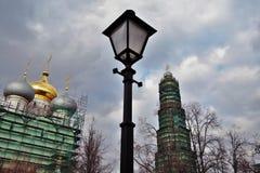 kloster novodevichy moscow Smolensk symbolsdomkyrka arkivfoton