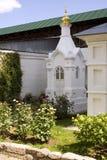 kloster novospassky moscow Royaltyfri Fotografi