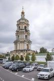 kloster novospassky moscow Royaltyfria Foton