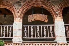 Kloster- och ekbräde av den ortodoxa kloster Fotografering för Bildbyråer