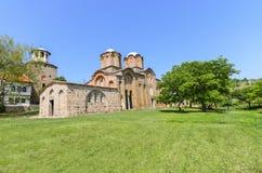 Kloster- och kyrkakomplex Fotografering för Bildbyråer