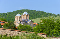 Kloster- och kyrkakomplex arkivfoton