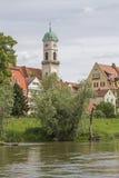 Kloster- och kyrkakomplexSt Mang i Regensburg Royaltyfri Fotografi