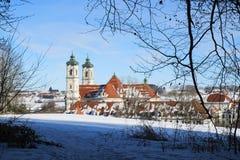 Kloster Ottobeuren Stockfoto