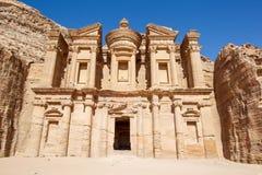 Kloster på Petra Arkivfoton