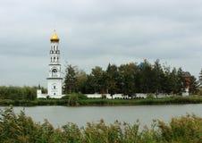 Kloster på söderna av Ryssland Arkivfoto