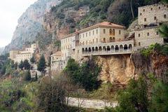 Kloster p? vagga arkivfoton