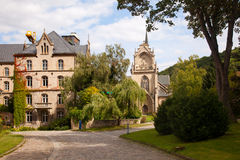 Kloster Pforta Fotografering för Bildbyråer