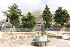 Kloster Rezevici i Montenegro Fotografering för Bildbyråer