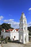 Kloster, Rhodos, Griechenland lizenzfreie stockfotografie
