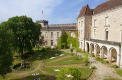 Kloster Rocamadour, Frankrike Arkivbild