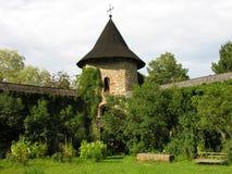 kloster romania Royaltyfri Fotografi