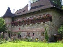 kloster romania Royaltyfri Foto
