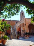 Kloster Ruhe Agia Triada stockfotografie