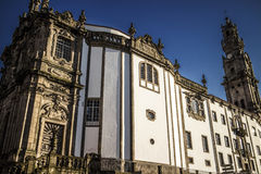 Kloster Sé tun Porto, Portugal stockbild
