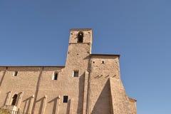 Kloster S Francesco i Umbria Arkivbild