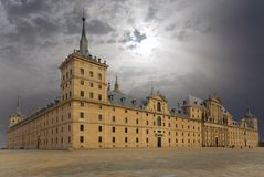 kloster san för el escorial lorenzo madrid Royaltyfria Bilder