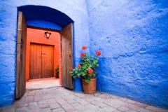 Kloster Sankt-Catalina, Arequipa Stockfotos
