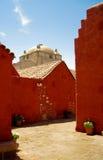 Kloster Sankt Catalina (Arequipa, Peru) Stockbilder
