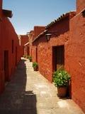 Kloster Sankt Catalina (Arequipa, Peru) Stockfotos
