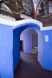 Kloster Sankt-Catalina. Arequipa, Peru Lizenzfreies Stockfoto