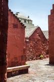 Kloster Sankt-Catalina, Arequipa, Peru Lizenzfreie Stockfotografie