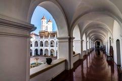 Kloster Sans Felipe Neri in Sucre Bolivien stockbilder