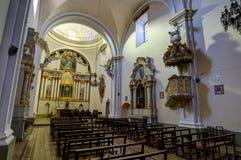 Kloster Sans Felipe Neri in Sucre Bolivien lizenzfreie stockfotos