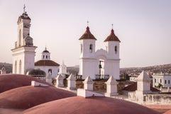 Kloster Sans Felipe Neri in Sucre, Bolivien lizenzfreie stockfotos