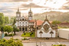Kloster-Sao Bento in Santo Tirso, Portugal Stockbilder